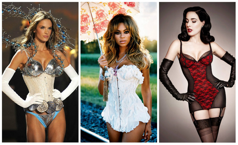 BUSTIER INSPIRED FASHION