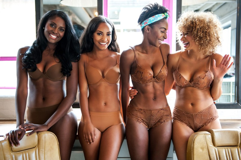 Nubian Skin Launch to Trade at the Lingerie