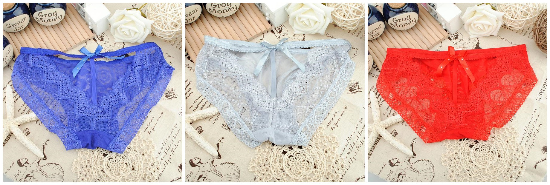 Lace Women Tanga