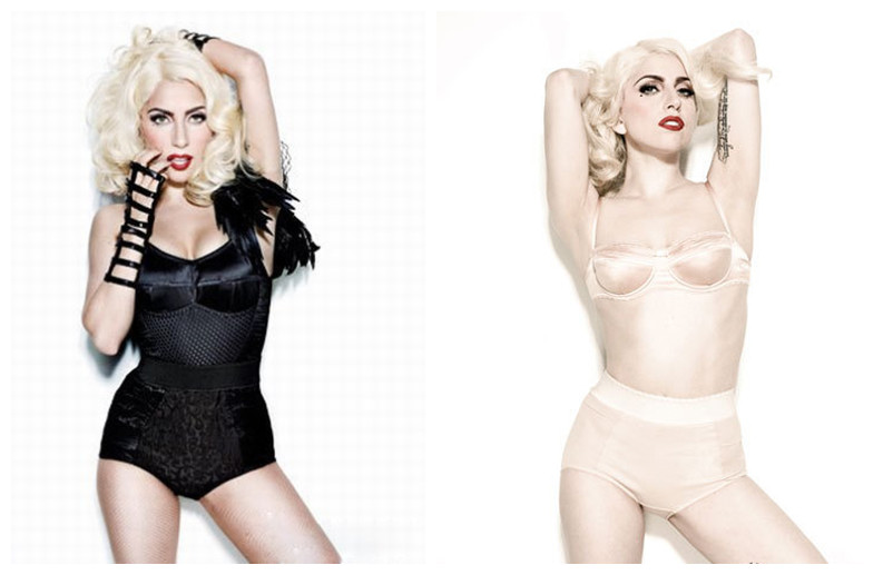 Lady Gaga Just leads the trend of lingerie