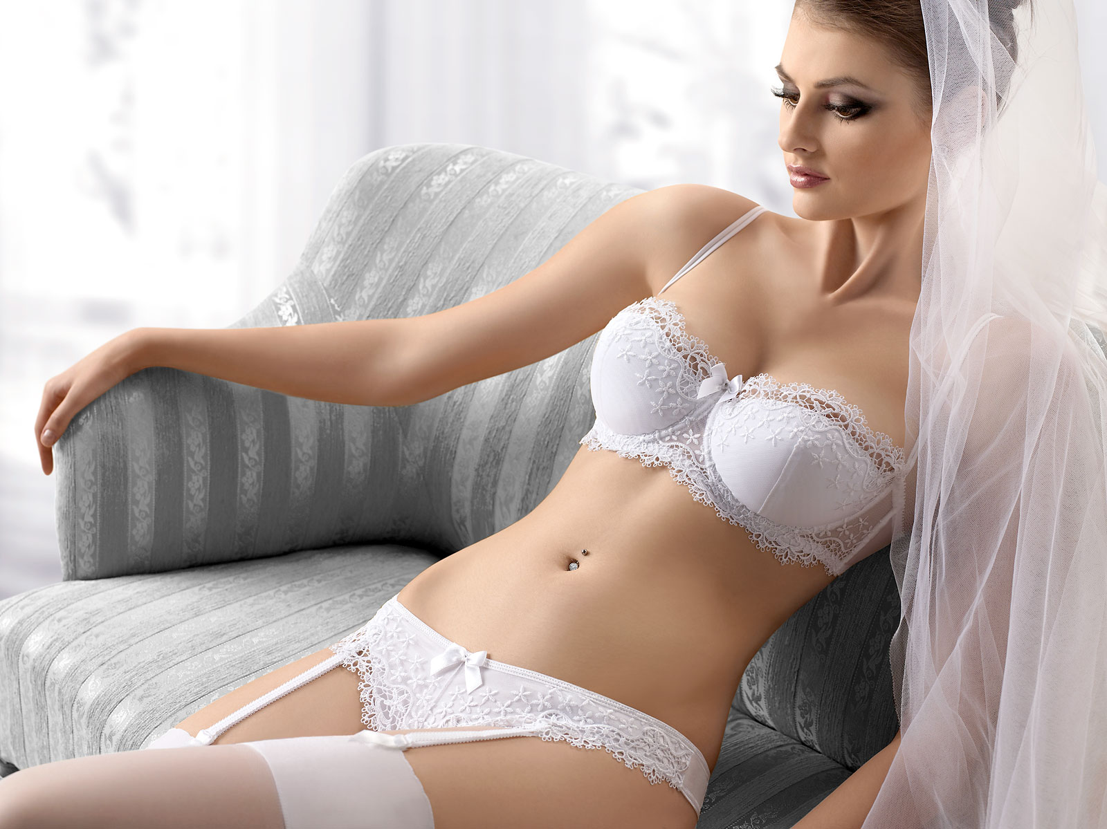Bridal Lingerie Pillow Talk
