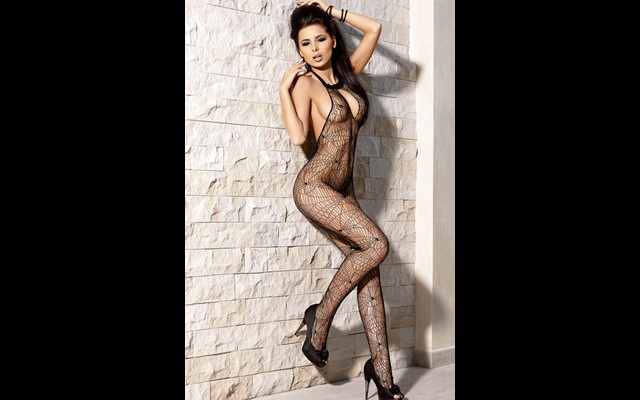 Shopping Crotchless Body Stocking