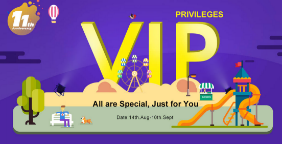 Everyone Can Become The VIP5 !!!