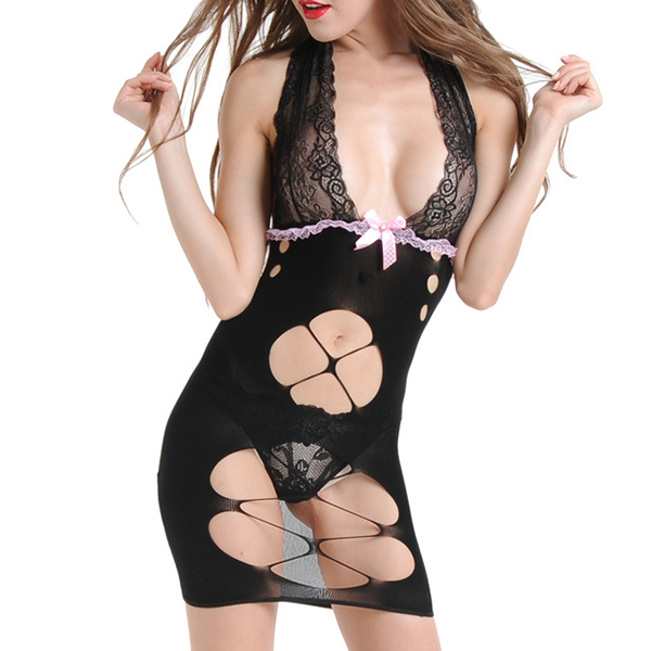 Sexy Backless Nightdress