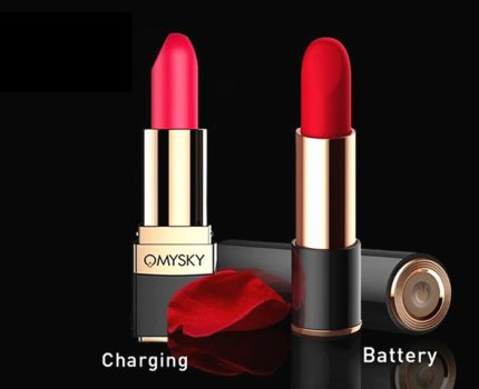 OMYSKY Lipstick Vibrator —The Perfect Hidden Pleasure